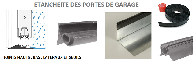 Joints et seuils d 39 tanch it abc ressorts - Seuil de porte de garage sectionnelle ...
