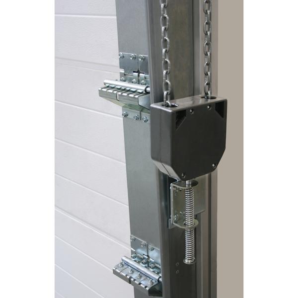 Tendeur de chaine de treuil de porte de garage abc ressorts for Chaine detendue porte de garage